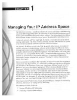 01 - managing your ip address space