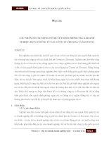 Tiểu luận môn Quản trị rủi ro CÁC NHÂN TỐ TÁC ĐỘNG TỚI QUYẾT ĐỊNH PHÒNG NGỪA DOANH NGHIỆP: BẰNG CHỨNG TỪ CÁC CÔNG TY CROATIA VÀ SLOVENIA