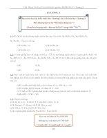bài tập xác suất thống kê chương 3 có hướng dẫn giải