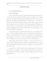 Một số cách khai thác biện pháp nghệ thuật trong truyện ngắn hiện đại Việt Nam chương trình Ngữ văn 9