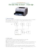 tài liệu hướng dẫn lắp ráp và sử dụng máy in toàn tập