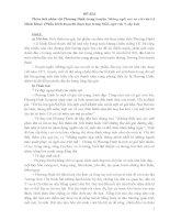 Tài liệu bồi dưỡng HSG lớp 9 môn văn