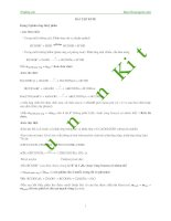 các dạng bài tập về este có lời giải chi tiết