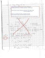 đề thi tự luận xác suất thống kê ôn thi cao học