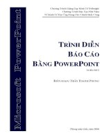 Báo cáo hiệu quả với powerpoint   tài liệu tin học văn phòng