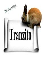 bài giảng công nghệ 12 bài 6 thực hành- tranzito