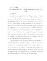 CHUYÊN ĐỀ: VẬN DỤNG SƠ ĐỒ TƯ DUY VÀO GIẢNG DẠY BỘ MÔN ĐỊA LÝ Ở THCS