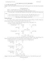 Tài liệu bồi dưỡng HSG sinh học lớp 9