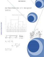 Đi tìm công thức tổng quát của dãy số