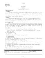 Giáo án lịch sử lớp 6 trọn bộ