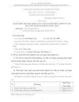skkn một số biện pháp dạy kèm học sinh yếu môn toán lớp 5 a1 trường tiểu học mỹ phước a