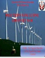 báo cáo năng lượng gió ở việt nam