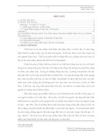 TIỂU LUẬN TRIẾT HỌC VẤN ĐỀ ĐẠO ĐỨC VÀ TÔN GIÁO  TRONG TRIẾT HỌC CỦA FEUERBACH