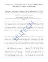nghiên cứu đánh giá hiện trạng và đề xuất biện pháp quản lý chất thải rắn nguy hại phát sinh từ các cơ sở sản xuất công nghiệp trên địa bàn huyện đức hòa, tỉnh long an đến năm 2020 (2)