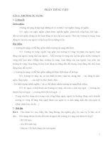 Tổng hợp ôn tập ngữ văn 8