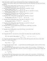 51 công thức giải nhanh bài tập trắc nghiệm hóa học thpt