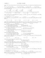 Bài tập vật lý 12 toàn tập