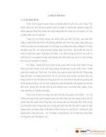 ĐÁNH GIÁ CHẤT LưỢNG NưỚC SÔNG KIM LIÊN VÀ ẢNH HưỞNG CỦA NÓ ĐẾN KINH TẾ VÙNG PHỤ CẬN