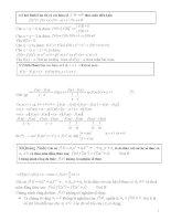 tuyển chọn các bài toán phương trình hàm trong các đề thi học sinh giỏi