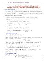 ứng dụng đạo hàm giải và biện luận phương trình bất phương trình hệ phương trình chứa tham số