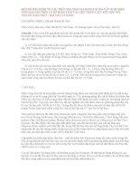 MỘT số đặc điểm về cấu TRÚC địa CHẤT KAINOZOI VÙNG tây NAM MIỀN VÕNG hà nội TRÊN cơ sở PHÂN TÍCH tài LIỆU TRỌNG lực kết hợp với tài LIỆU địa CHẤT   địa v