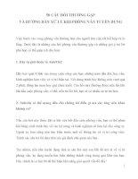 50 CÂU HỎI THƯỜNG GẶP VÀ HƯỚNG DẪN XỬ LÝ TRẢ LỜI KHI ĐI PHỎNG VẤN TUYỂN DỤNG