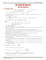 Chuyên đề bồi dưỡng hóa học lớp 10