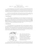 địa chất cấu tạo bài tập số 2