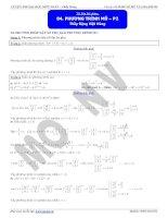 phương trình mũ p2