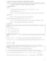 chuyên đề phương trình đường tròn dạng toán và bài tập