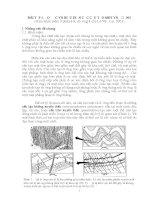 địa chất cấu tạo bài tập số 1