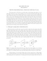 địa chất cấu tạo bài tập số 3 tính toán thế nằm của lớp