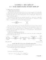 giáo trình điện lý thuật phần máy biến áp