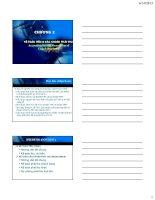 bài giảng kttc chương tiền và các khoản phải thu