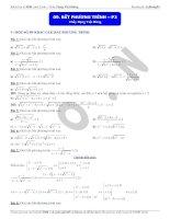 bài tập bất phương trình (3)