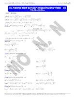 phương pháp đặt ẩn phụ giải phương trình (2)