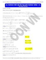 phương pháp đặt ẩn phụ giải phương trình (3)