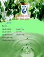 bài thuyết trình tài nguyên thiên nhiên đất nước rừng