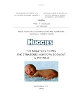 Huggies The strategy to win the strategic newborn segment in Vietnam