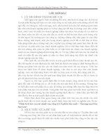 Phân tích báo cáo tài chính của công ty Cổ phần Sản xuất – Thương mại May Sài Gòn