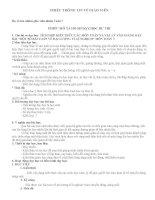 TÍCH HỢP KIẾN THỨC CÁC MÔN TOÁN VÀ VẬT LÝ VÀO GIẢNG DẠY BÀI MỘT SỐ BÀI TOÁN VỀ ĐẠI LƯỢNG TỈ LỆ NGHỊCH MÔN TOÁN 7