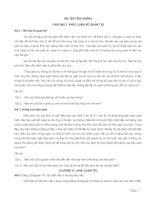 Bài tập tình huồng quản trị học