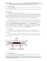 Kỹ thuật SC xe máy  KHÁI NIỆM về hệ THỐNG điện TRÊN XE gắn máy  Đại học, cao đẳng