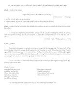 Đề thi văn 9 học kì 2 quận Tân Phú năm học 2013-2014