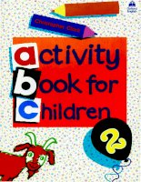 Giúp bé học tiếng anh  activities book for children 2