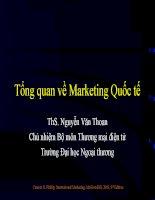slide bài giảng marketing quốc tế tổng quan về marketing quốc tế
