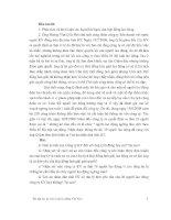 Bài tập học kỳ môn luật lao động Việt Nam