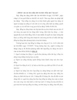 Bài tập tình huống về đơn phương chấm dứt hợp đồng lao động