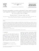 Atmospheric environment volume 40 issue 23 2006 doi 10 1016%2fj atmosenv 2006 03 044 masahide aikawa; takatoshi hiraki; jiro eiho    vertical atmospheric structure estimated by heat island intensity and tempor