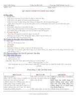 GIÁO ÁN TOÁN HÌNH HỌC LỚP 12 CƠ BẢN